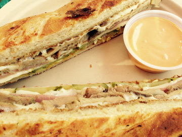 The late great Cuban sandwich from Annel & Drew's Kitchen