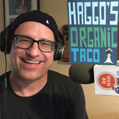 Chef-owner James Haggard from Haggo's Organic Tacos